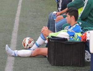 Rondinelly treino Palmeiras (Foto: Gustavo Serbonchini)