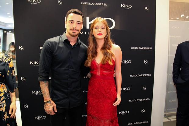 Felipe Titto e Marina Ruy Barbosa (Foto: Marcos Ribas/Brazil News)