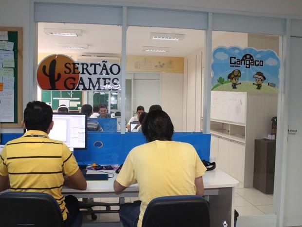 A Sertão Games lanchou em junho de 2012 o primeiro wargame do mundo. (Foto: Gilcilene Araújo/G1)