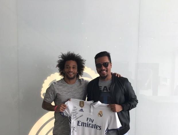 BLOG: Futebol e pagode: Marcelo presente