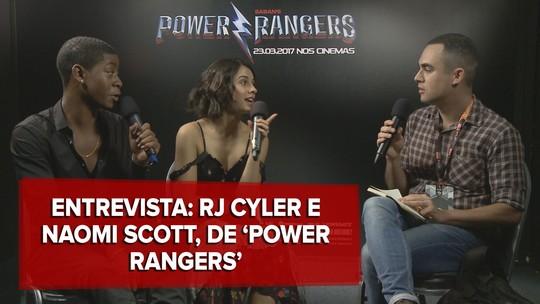 Atores de 'Power Rangers' dizem que filme é comédia com 'lado sombrio'