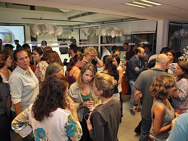 Coquetel no Projac reuniu equipe da próxima novela das 9 (Foto: Fabiano Battaglin / Gshow)