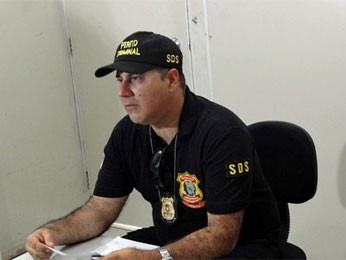 Sérgio Almeida, perito do DHPP (Foto: Katherine Coutinho/G1)