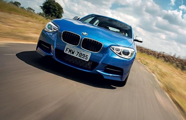 BMW M135i (Foto: Fabio Aro / Autoesporte)