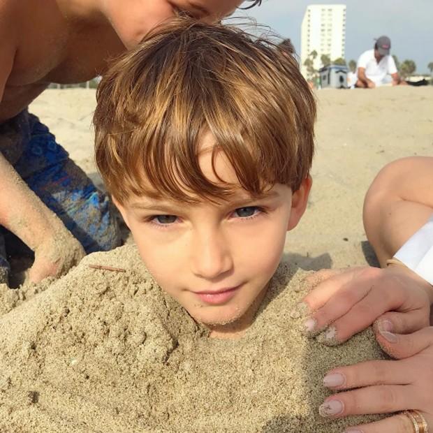 Rafael, filho caçula de Claudia Leitte e Marcio Pedreira (Foto: Reprodução/Instagram)