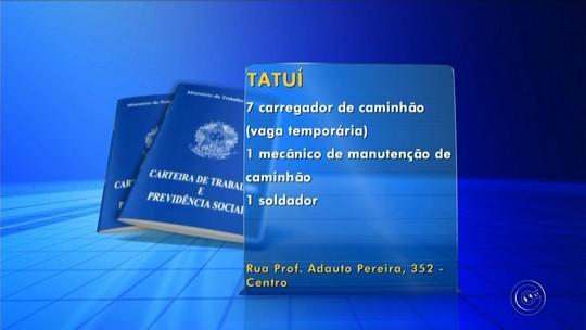 PATs da região de Itapetininga oferecem mais de 140 vagas