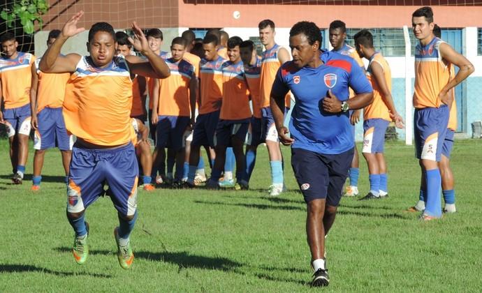 Treinos físicos Grêmio Prudente - André Oliveira (Foto: João Paulo Tilio / GloboEsporte.com)