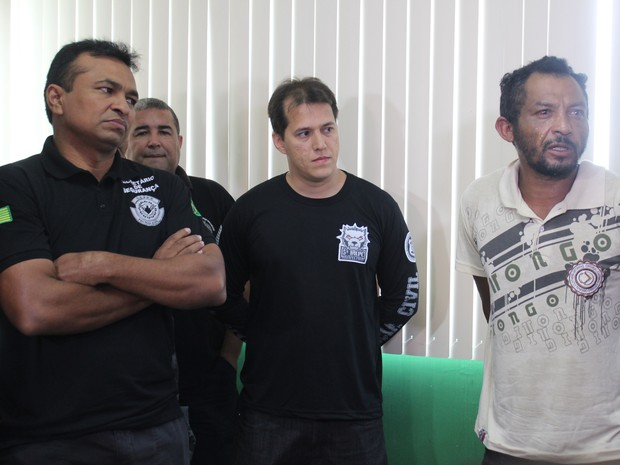Suspeito de estupro coletivo negou autoria no crime (Foto: Catarina Costa/G1)