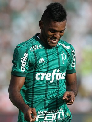 Borja comemora gol Palmeiras