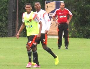 Elton treino Flamengo (Foto: Thales Soares )