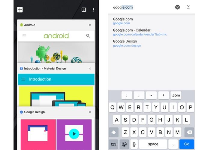Google lança Chrome 40 para iOS com Material Design e Handoff (Foto: Divulgação/iTunes)