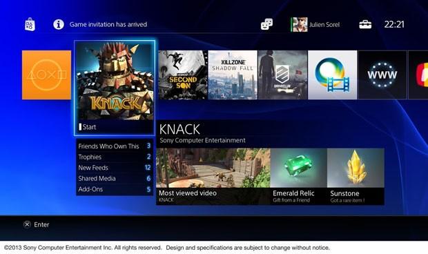 Vídeo mostra como funcionará menus e interação no PlayStation 4 V2rwevq9
