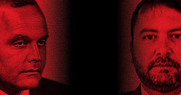 Wilson Carlos de carvalho e Carlos Emanuel Miranda (Foto: Michel Filho/Agência O Globo e reprodução)