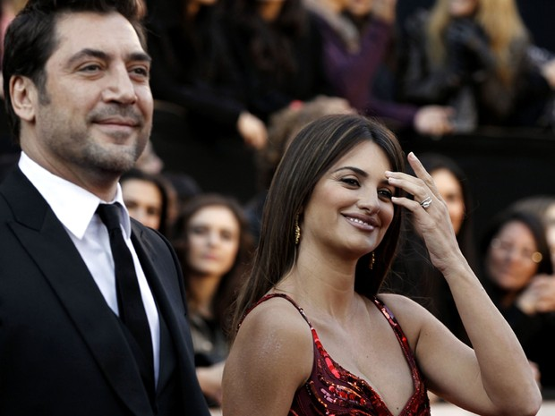 Javier Bardem e Penelope Cruz (Foto: AP)