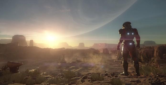Novo game da série vai se passa na galáxia de Andromeda (Foto: Reprodução/YouTube)