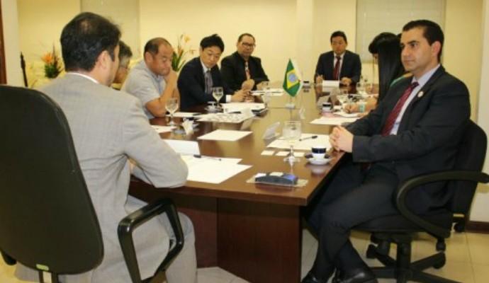 Comitê Manaus 2016 recebe representantes do Japão (Foto: Divulgação/Comitê Manaus 2016)