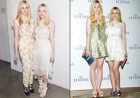 Estilo - Elle e Dakota Fanning (Foto: Getty Images)