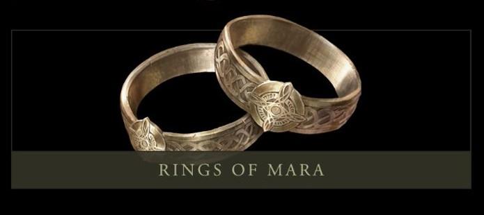 Casamento cria itens Rings of Mara para cada um dos cõnjuges (Foto: elderscrolls.wikia.com)