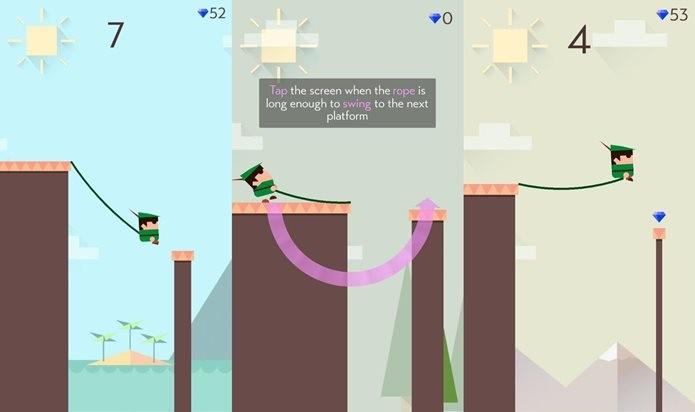Balance por aí em Swing (Foto: Divulgação / Ketchapp)