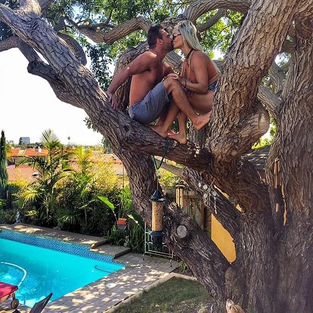 Laura Keller e marido, Jorge Sousa (Foto: Instagram)