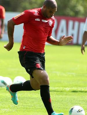 Adriano flamengo treino (Foto: Alexandre Vidal / Flaimagem)