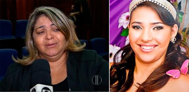 Rosilene Fernandes, mãe de Maria Luiza; Adolescente, de 15 anos, foi morta em 2009 (Foto: Reprodução/Inter TV Cabugi)