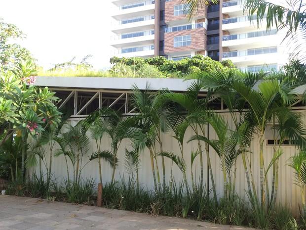 Containers tem várias utilidades na arquitetura em Goiânia, Goiás (Foto: Danielle Oliveira/G1)