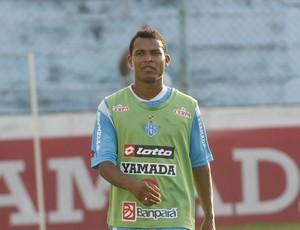 Robinho durante treino do Paysandu (Foto: Tarso Sarraf/O Liberal)