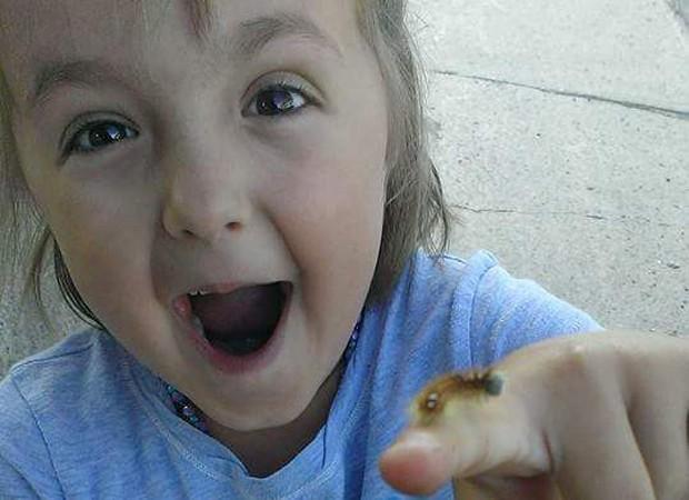 Gosto por animais e insetos foi motivo de bullying (Foto: Reprodução)