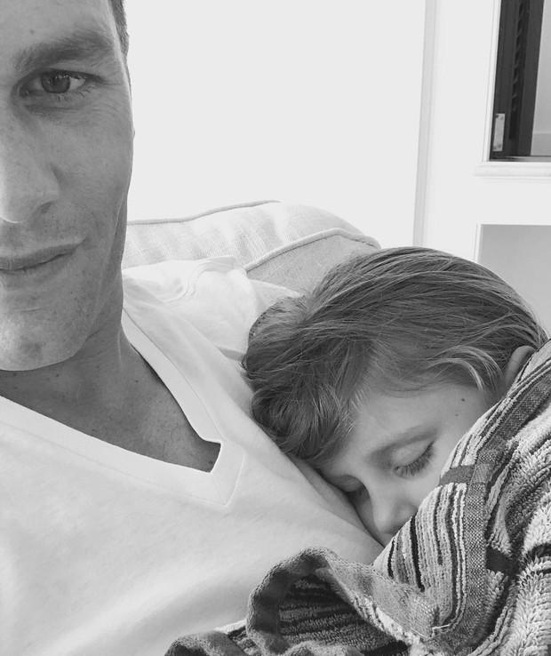 Tom Brady e Vivian (Foto: Instagram / Reprodução)