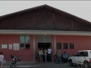 Hospital do Seridó, em Caicó/RN (Foto: Reprodução/InterTV Cabugi)