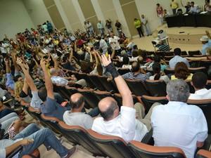 Assembleia geral foi convocada pela Adufal, na segunda (25) (Foto: Divulgação/Adufal)