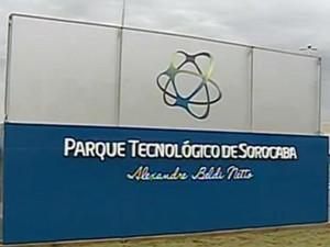 Parque Tecnológico de Sorocaba (Foto: Reprodução/TV Tem)