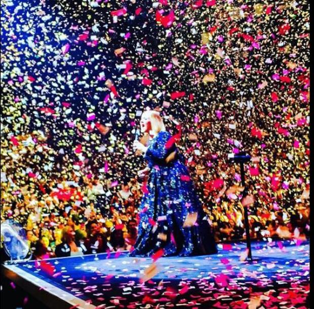 Chuva de declarações de Adele (Foto: Twitter / Reprodução)