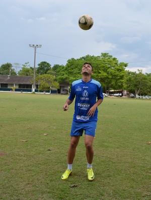 Mateus de Oliveira, jogador de Rondônia (Foto: Magda Oliveira)