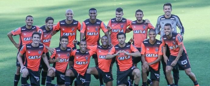 Treino do Atlético-MG (Foto: Bruno Cantini/ Atlético-MG)