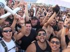 VÍDEO: G1 grava 'rodinha' de dança, empurrões e gritos no show do Angra