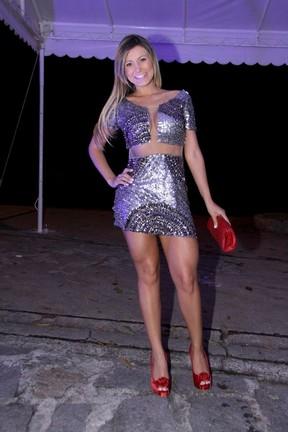 Andressa Urach em festa no Rio (Foto: Alex Palarea e Felipe Assumpção/ Ag. News)