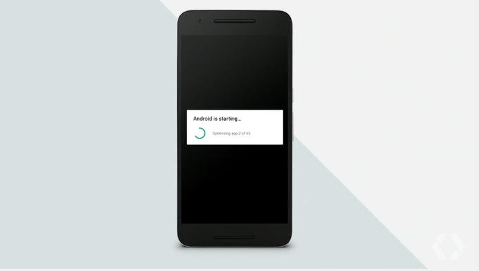 Android N não terá mais tela de otimização de apps após instalação de apps (Foto: Reprodução/Elson de Souza)