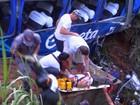 Morre mais um passageiro do ônibus que caiu em barranco na Anhanguera