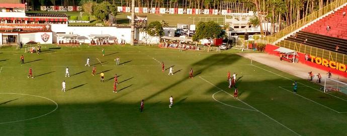 Barradão: Vitória x Fluminense; Brasileiro Sub-20 (Foto: Rafael Santana)