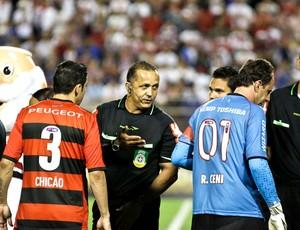 Alicio Pena e Rogério Ceni São Paulo e Flamengo (Foto: Ale Vianna / Agência estado)