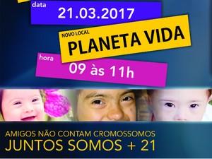 Evento pelo Dia da Síndrome de Down é realizado em Três Rios (Foto: Divulgação/PMTR)