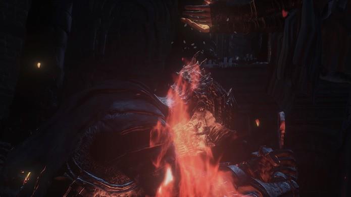 Dark Souls 3: tente manter o personagem sempre em movimento durante o confronto (Foto: Reprodução/Victor Teixeira)