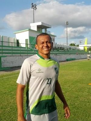 Reinaldo Alagoano veste a camisa do Murici (Foto: Jailson Colácio/Murici)