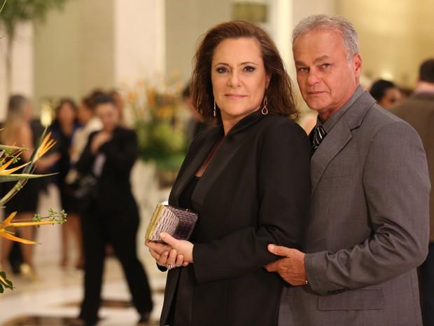 Em São Paulo, Tina é Cristina Romantini, empresária e mulher de Pedro (Foto: Carol Caminha/ Gshow)