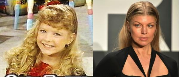 Fergie tinha apenas 9 anos quando começou na televisão (Foto: Getty Images)