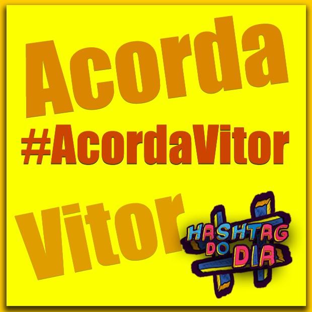 #HashtagDoDia: Acorda Vitor (Foto: Malhação / TV Globo)