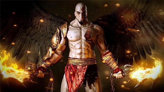 Kratos está de volta em God of War 3 Remastered para PlayStation 4 comemorando o aniversário da série (Foto: Reprodução/YouTube) (Foto: Kratos está de volta em God of War 3 Remastered para PlayStation 4 comemorando o aniversário da série (Foto: Reprodução/YouTube))