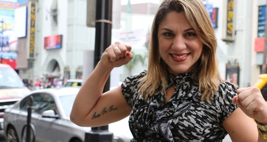 """sou  anti-Ronda"" (Evelyn Rodrigues)"